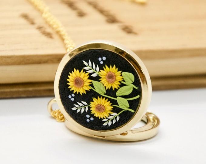 LOCKET sunflower