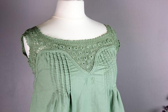 Dress - XS Old Green Shirt