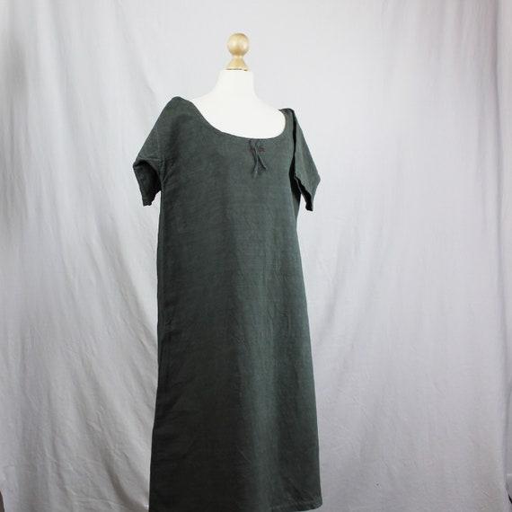 Dress - Old linen shirt