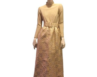 1970s Malcolm Starr Evening Gown