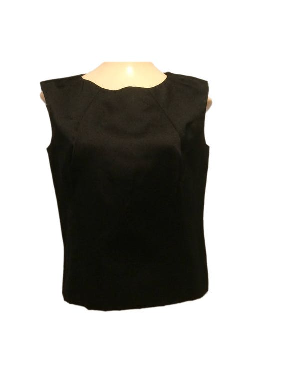 Pauline Trigére Sleeveless Top