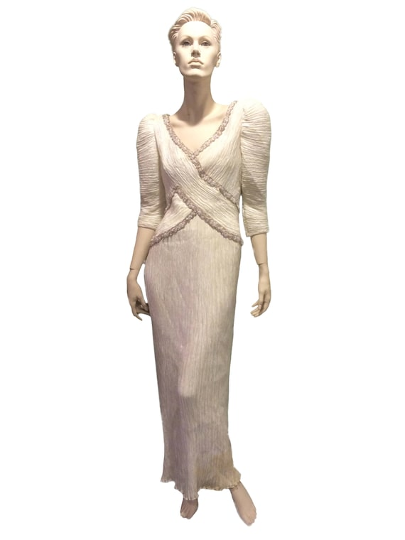 Mary McFadden Evening Gown