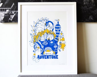 Have an Adventure- poster