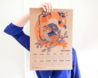 Year Calendar 2018