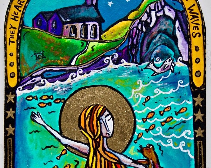 Saint Muirgen of Lough Neagh, a Dancing Monk