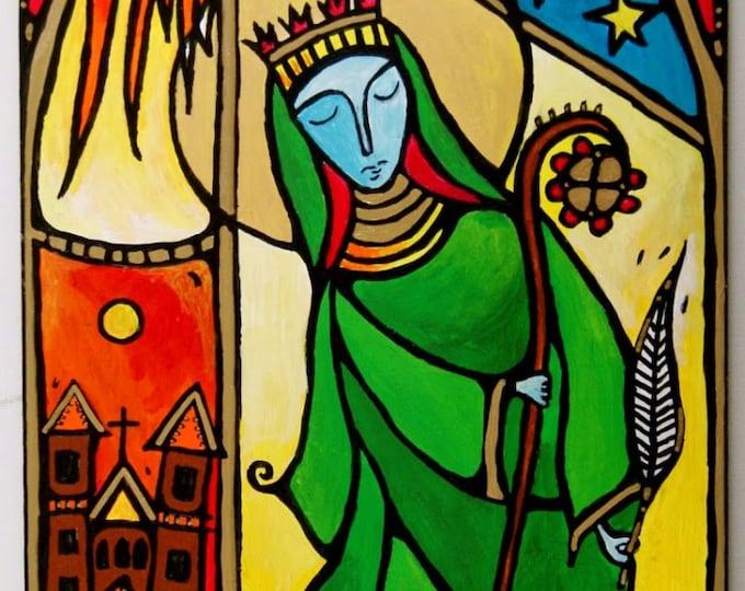 Hildegard of Bingen, Dancing Monk