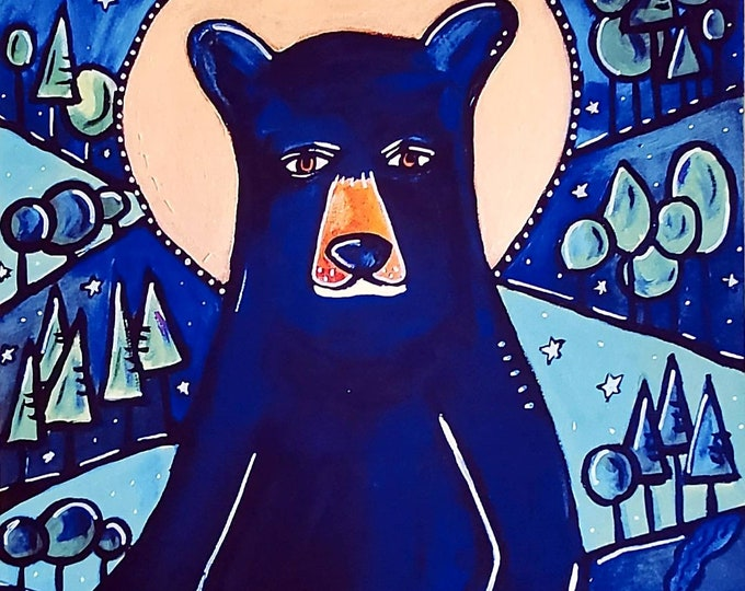 Bear, Woodland Creatures Series