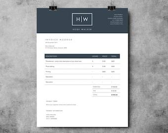 photographer invoice template invoice design receipt template ms word photoshop