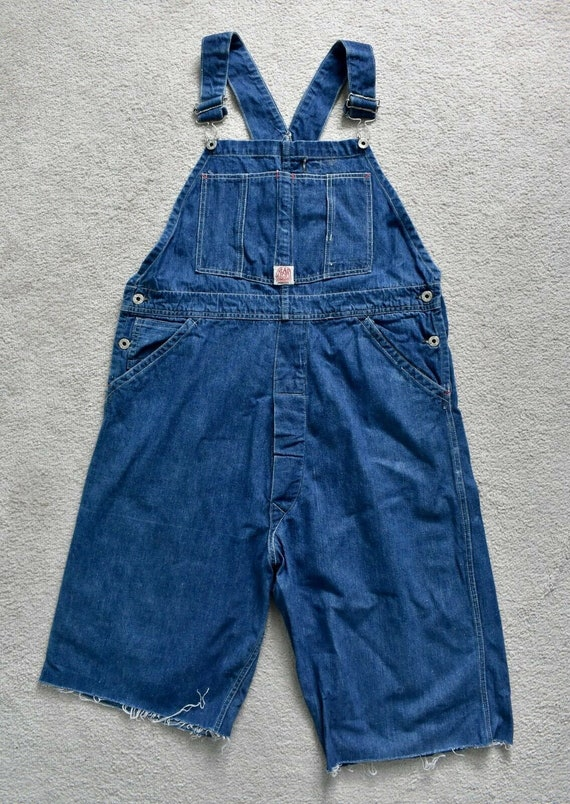 Vtg 30s 40s HEAD LIGHT Sanforized Selvedge Denim C