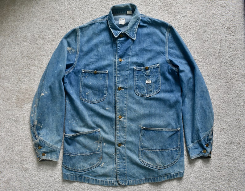 Mint! Vintage 60/'s// 70/'s What You Don/'t See is Better Yet Patch Jacket// Crafts