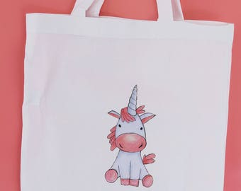 Tote Bag with Unicorn