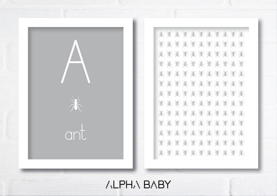 A for ANT Poster Set