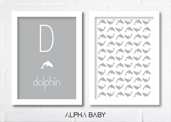 D for DOLPHIN Poster Set