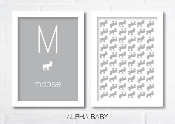 M for MOOSE Poster Set