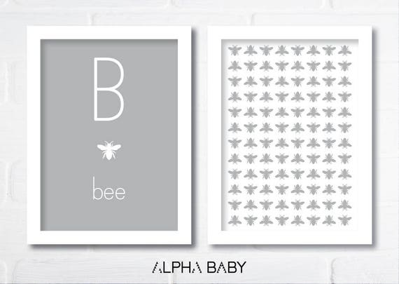 B for BEE Poster Set