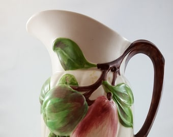 Beautiful Holland Mould Fruit Tree Pitcher