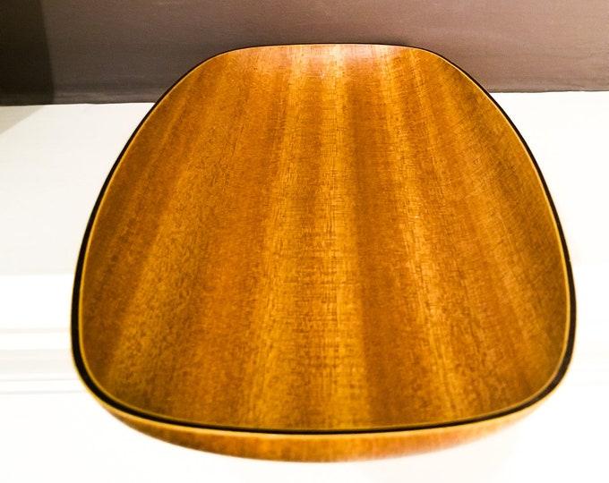 Mid Century Stunning Teak and Laminate Platter