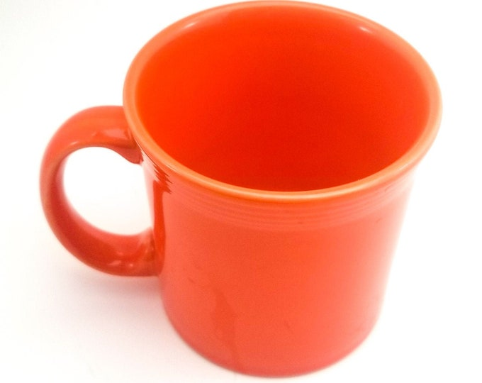 Vintage Collectible Fiestaware Orange Mug, Homer Laughlin