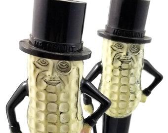 Mr. Peanut plastic Salt and Pepper Shakers