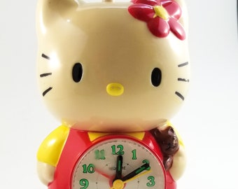 Cutest Hello Kitty Plastic Alarm Clock