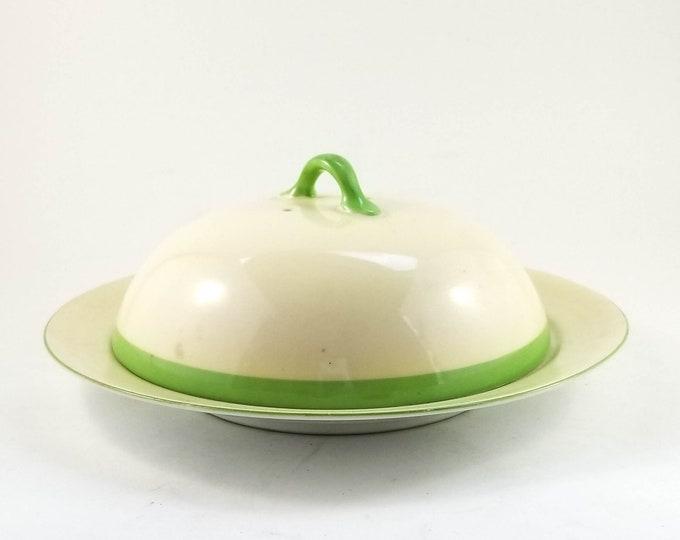 Beautiful Noritake Round Butter Dish