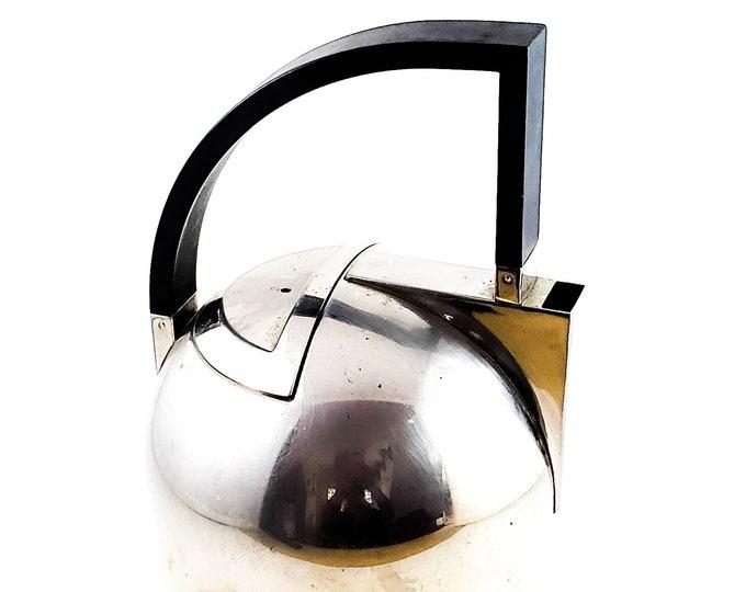 Mid Century Modern Oliver Hemming   ArtDeco Stove Top Tea Kettle