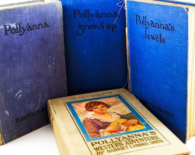 Vintage 1940's Book Set - Pollyanna