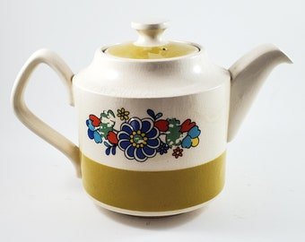 Super Cute Vintage Single Serving Sadler Stoneware Tea Pot