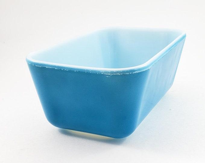 Vintage Pyrex Fridgie, Pyrex Fridge Dish, Blue Pyrex Dish, Vintage Pyrex, Pyrex Bowls, Blue Pyrex, Vintage Pyrex Fridgie, Fridgie