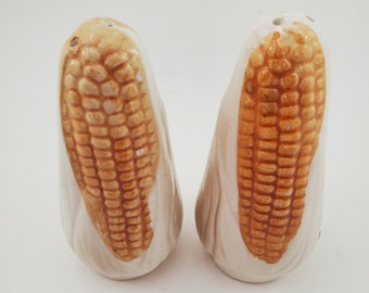 Vintage Ear of Corn Salt and Pepper Shakers