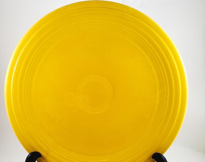 Fantastic Fiesta Dinner Plate in Yellow