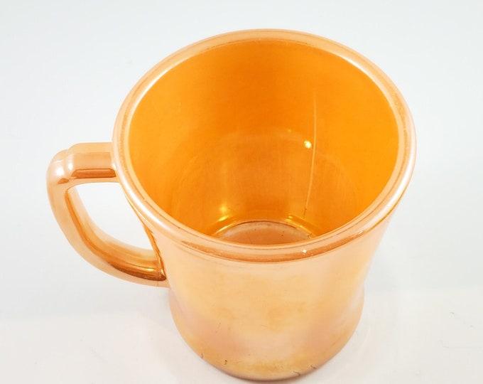 Fire King Peach LUSTREWARE Mug