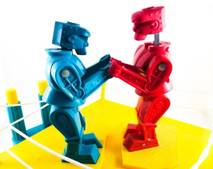 Vintage Rock 'Em Sock 'Em Robots.