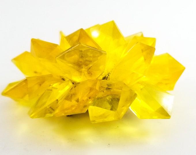 Beautiful Yellow Acrylic Pin