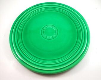 Fantastic Fiesta Dinner Plate in Green