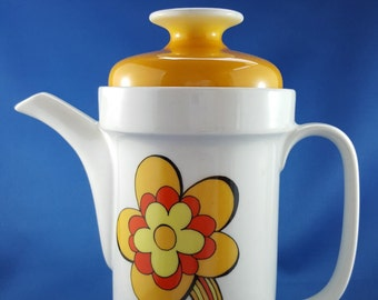 Flower Power Coffee Pot