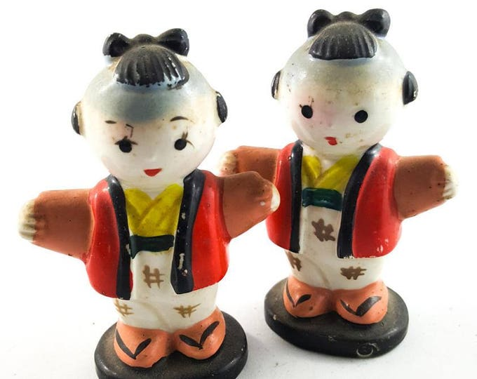 Sweet Little Asian Salt and Pepper Shakers