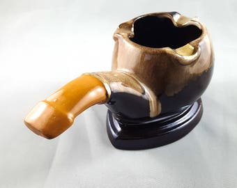 Pipe Motif Ashtray/Trinket Dish