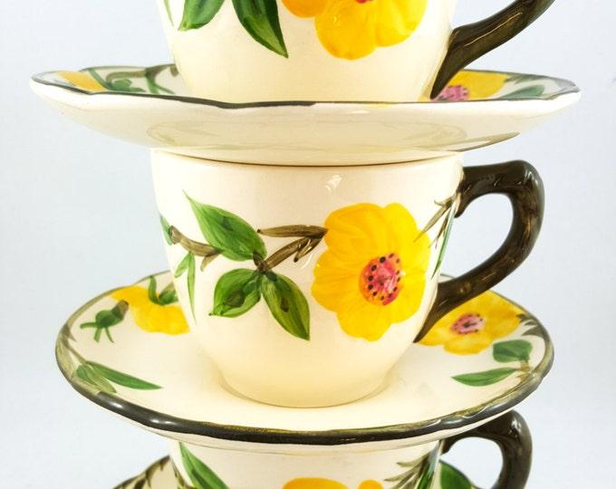 Lovely Floral Tea Cup Set