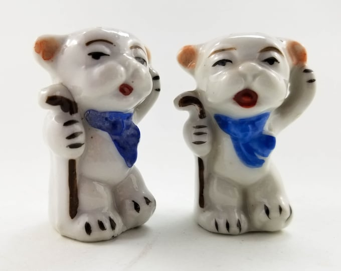 1950s Adorable Bonzo Dog Salt and Pepper Shakers