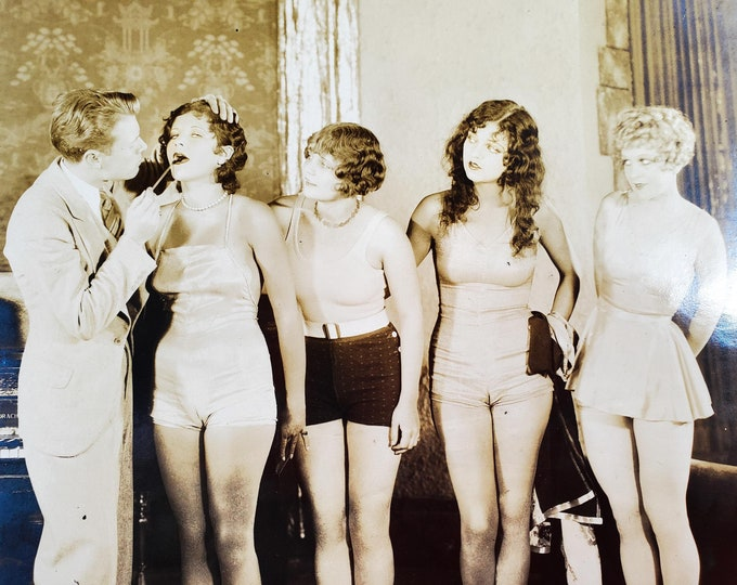 """Original Film Production Still From Hal Roach Comedy Film from Beginning of the """"Talkies"""""""