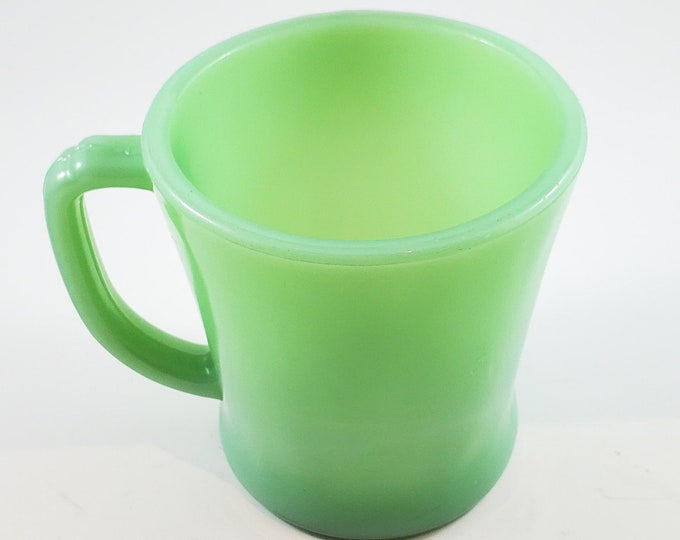Classic Jadeite Fire King Mug