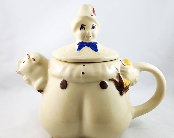 Tom Tom the Pipers Son Vintage Teapot