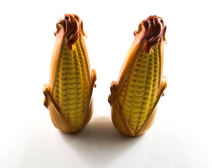 Vintage Ear of Corn Salt and Pepper Shakers