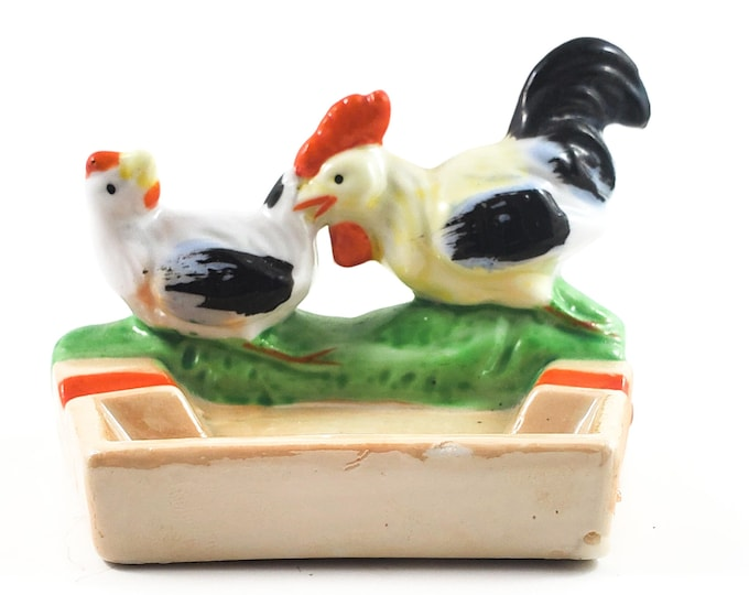 Super Cool Personal Chicken Ashtray. FUN! Trinket Dish, Loose Coins