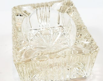 Sweet Little Personal Glass Ashtray/Trinket Dish