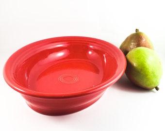 Original Deep Red Fiesta Oval Platter