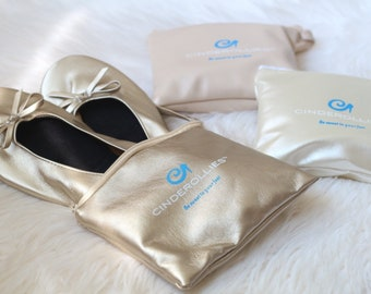 Foldable Ballet Flats bridesmaid gift
