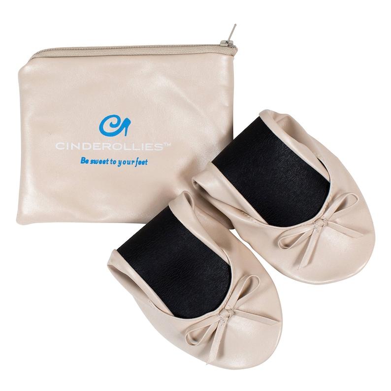 5a131de580e35 Nude Cinderollies Foldable FlatsBallet Flatsfoldable ballet