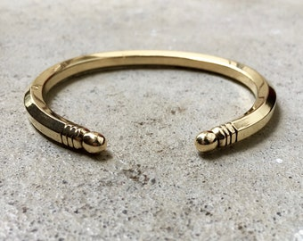 Thick CUFF Bracelet / Bangle / solid / thick / bangles / open